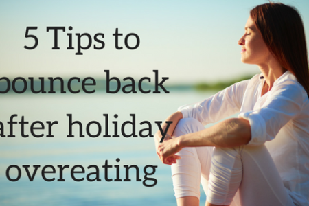 5 Tips to Bounce Back after Holiday Overeating