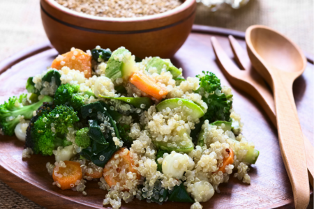 Quinoa Broccoli Salad (Anti-Inflammatory)