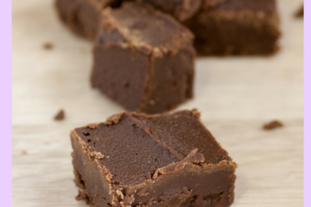 Vegan Chocolate Almond Fudge